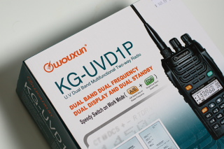 We review the Wuoxun KG-UVD1P 2-Way VHF UHF Handheld transceiver