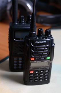 The Wouxun KG-UVD1P dual band portable