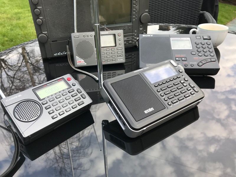 2018 Portable World Band Radio shoot out - ETON - SKYWAVE - TECSUN