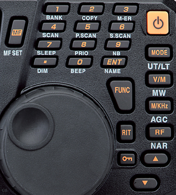 Alinco-DX-R8T-key-layout